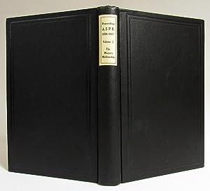 Proceedings of the American Society of Psychical: Brackett K. Thorogood
