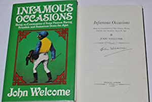Infamous Occasions Being an Examination of Some Famous Racing Scandals and Sensations Down The Ages