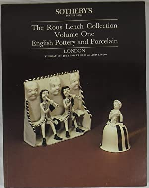 The Rous Lench Collection, Volume One, English