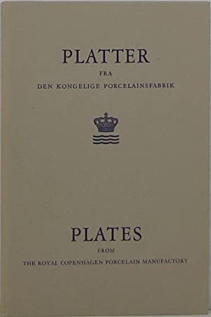 Plates from the Royal Copenhagen Porcelain Manufactory