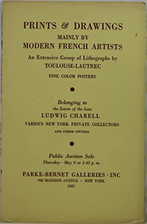 Prints & Drawings Mainly by Modern French