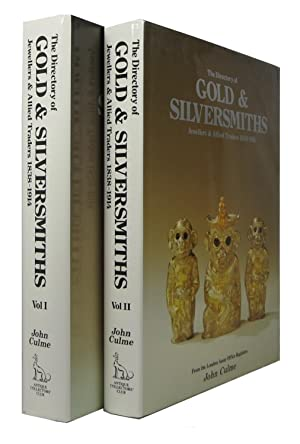 The Directory of Gold & Silversmiths, Jewellers & Allied Traders 1838-1914, from the London Assay...