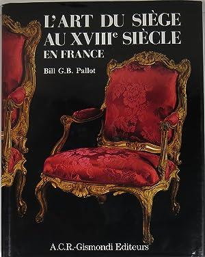L'Art du Siège au XVIIIe Siècle en: Pallot, Bill G.