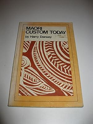 Maori Customs Today: Harry Dansey