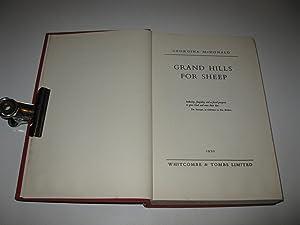 Grand Hills For Sheep: Georgina McDonald
