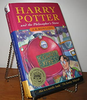 HARRY POTTER AND THE PHILOSOPHERS STONE 1st/1st: J.K.Rowling