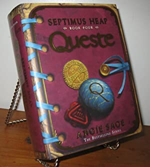 QUESTE SEPTIMUS HEAP Signed: Angie Sage