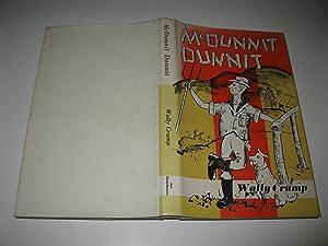 McDunnit Dunnit: Wally Crump