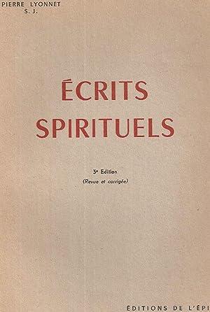 Ecrits spirituels: Pierre Lyonnet