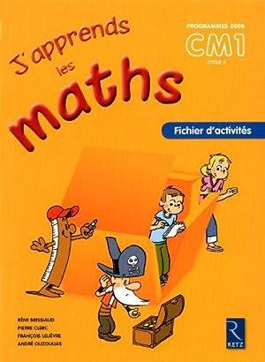 J'apprends les maths CM1: Clerc Pierre, Lelièvre