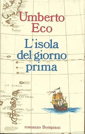 L'Isola del giorno Prima: Umberto Ecco