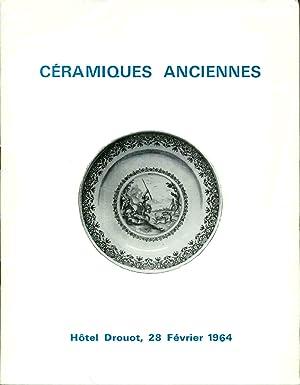 Céramiques Diverses Porcelaines anciennes Boussette-Furstenberg-Japon-Locre-Sevres . Faïences: Collectif