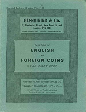 Catalogue of English and Foreign Coins in Gold, silver & Copper