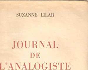 Journal de l'analogiste: Suzanne Lilar