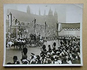 Royal Wedding, Duke of Kent Arriving at the Abbey.