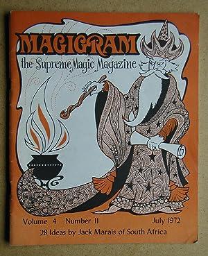 Magigram: The Supreme Magic Magazine. Volume 4: De Courcy, Ken.