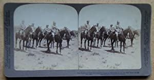 Gen French and Staff examining Boer Laager at Rensburg, S. A. just after Boers retreat, Dec 30th.