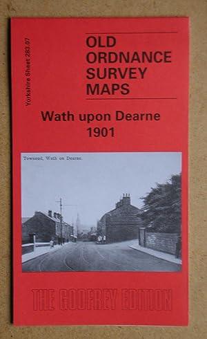 Old Ordnance Survey Maps Sheffield West Yorkshire  1903 Godfrey Edition New