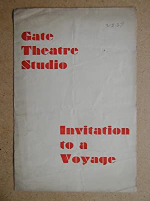 Invitation To A Voyage By Jean-Jacques Bernard.: The Gate Theatre