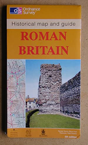 Historical Map and Guide: Roman Britain. South: Folding Map.