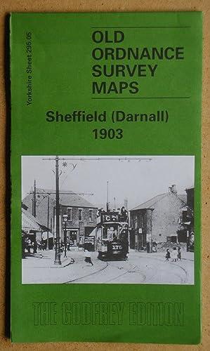 Old Ordnance Survey Detailed Maps Sheffield  Yorkshire 1903 Godfrey Edition New