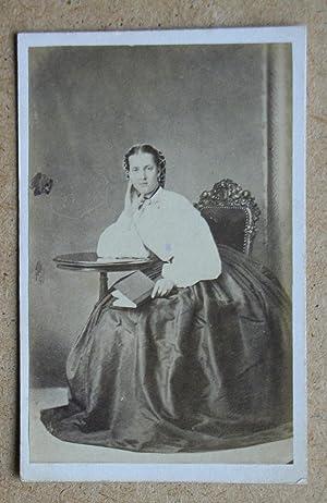 Carte De Visite Photograph. A Studio Portrait: Georg E. Hansen.