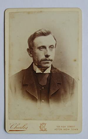 Carte De Visite Photograph. Portrait of a: Charles.