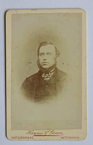 Carte De Visite Photograph. Portrait of Bearded: Haynes & Green.