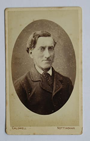 Carte De Visite Photograph. Portrait of a: G. Caldwell.
