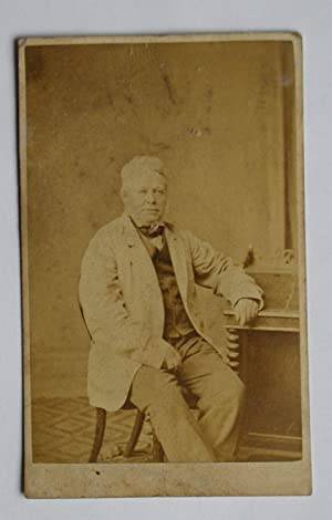 Carte De Visite Photograph: Studio Portrait of: R. Jones.