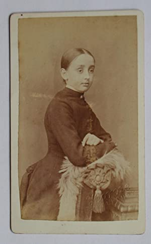 Carte De Visite Photograph. Studio Portrait of: Horne.