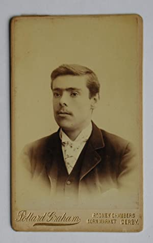 Carte De Visite Photograph. Portrait of a: Pollard Graham.