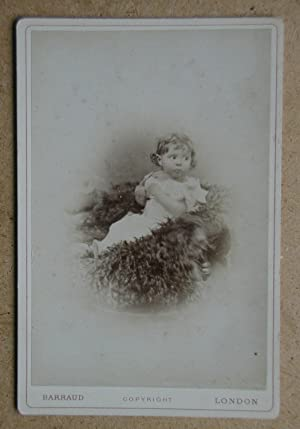 Cabinet Photograph: A Portrait of a Young Child.