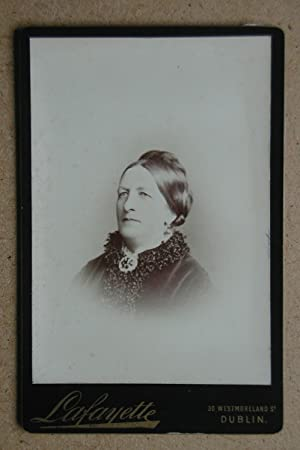 Cabinet Photograph: A Portrait of a Lady.