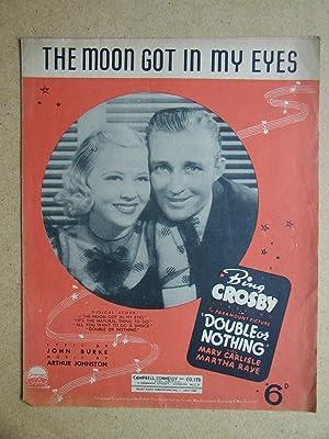 The Moon Got In My Eyes.: Burke, John. Lyrics