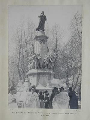 Group of People at Rhone Memorial, France.