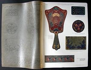 Le Cuir. Compositions Decoratives.: Raymond (Jehan.)