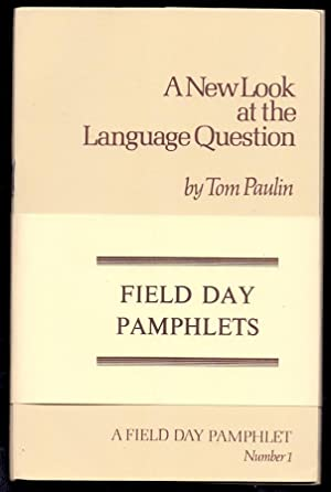 Field day Pamphlets *First Editions*: HEANEY, Seamus, DEANE, Seamus, PAULIN, Tom