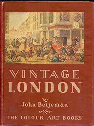 Vintage London*First Edition*: BETJEMAN, John
