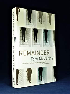 Remainder *SIGNED Limited Edition*: McCARTHY, Tom.