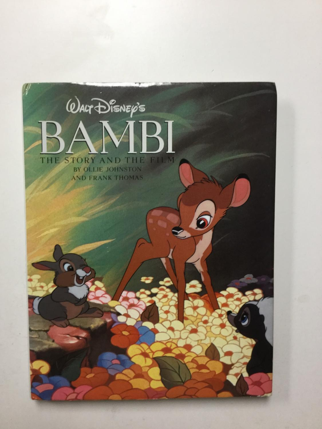 Walt_Disney's_Bambi_The_Story_And_The_Film_Johnston,_Ollie;_Thomas,_Frank_[Near_Fine]_[Hardcover]
