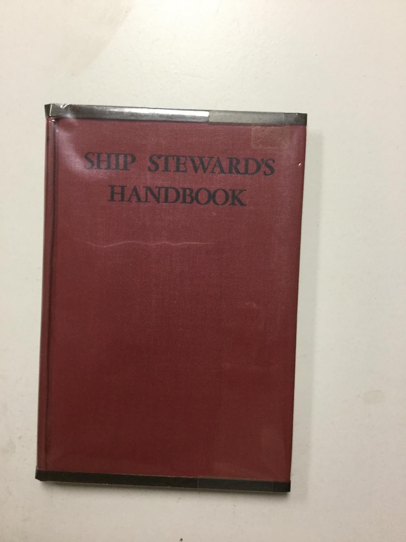 Ship_Stewards_Handbook_Krey_Otto_Very_Good_Hardcover