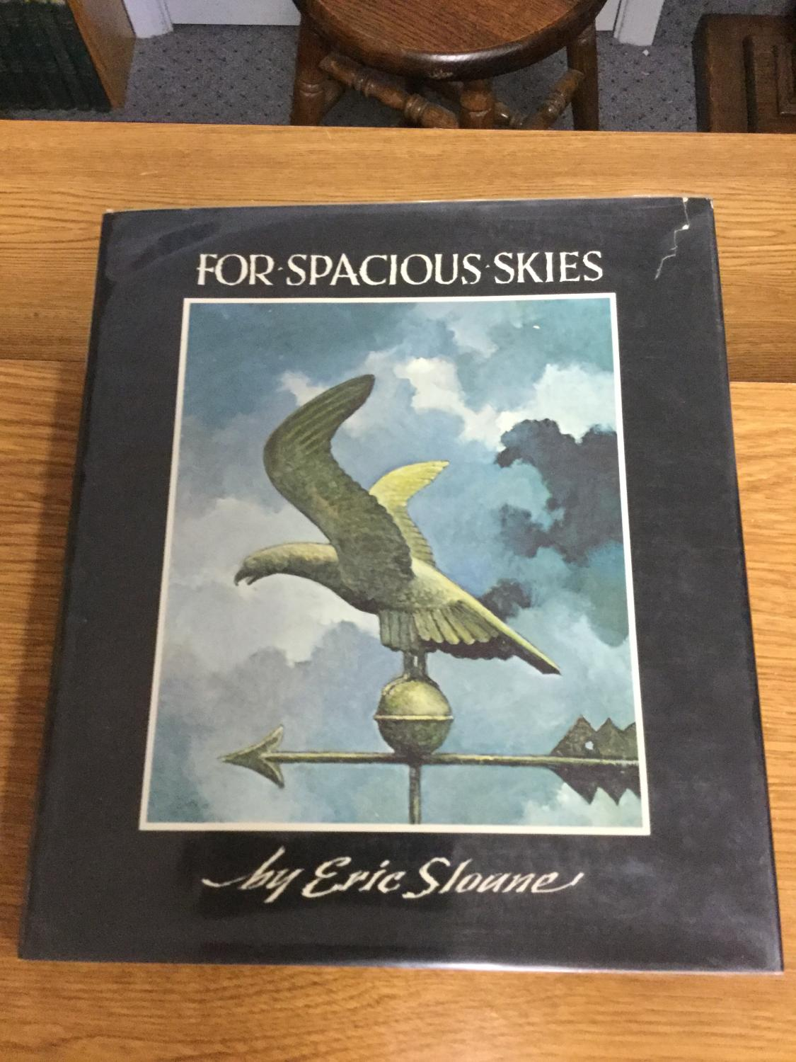 For_Spacious_Skies_A_Meteorological_Sketchbook_of_American_Weather_Sloane_Eric_Near_Fine_Hardcover