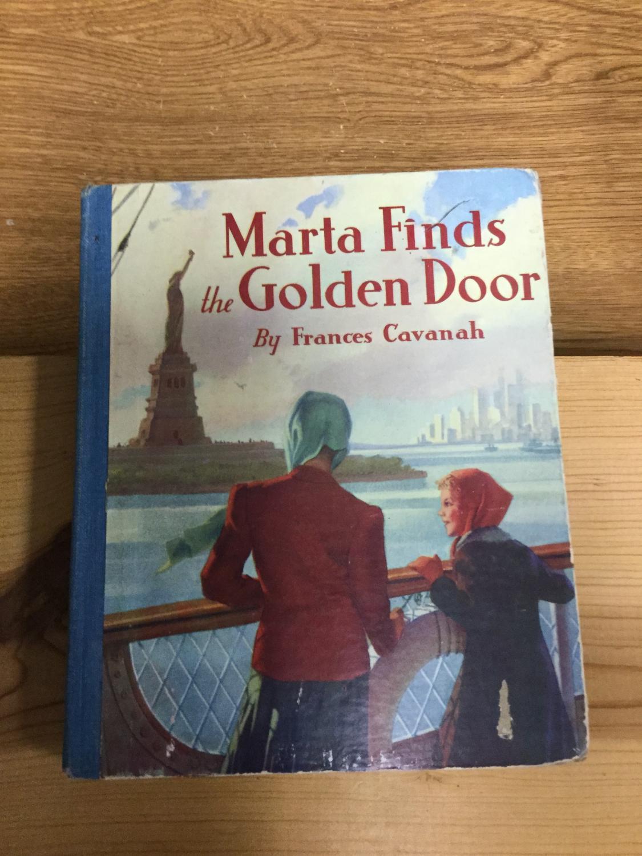 Marta_Finds_the_Golden_Door_Cavanah_Frances_Very_Good_Hardcover