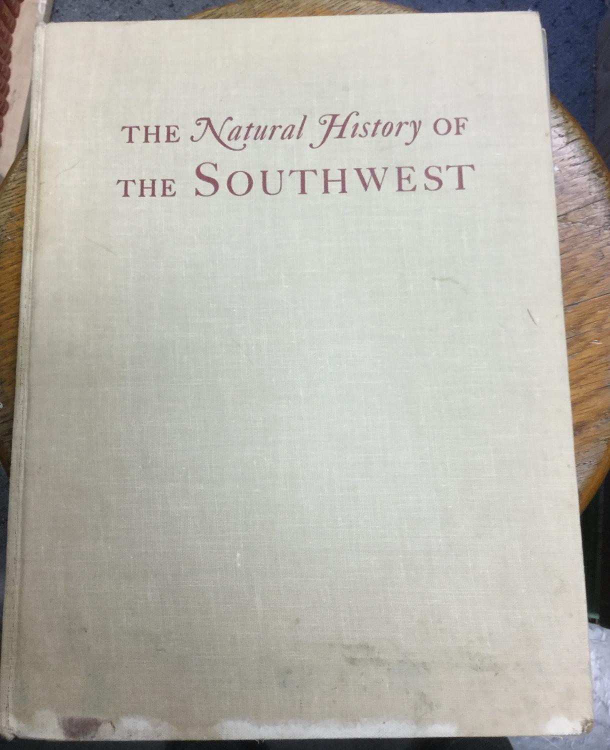 The_Natural_History_of_the_Southwest_Burns_William_A_editor_Good_Hardcover