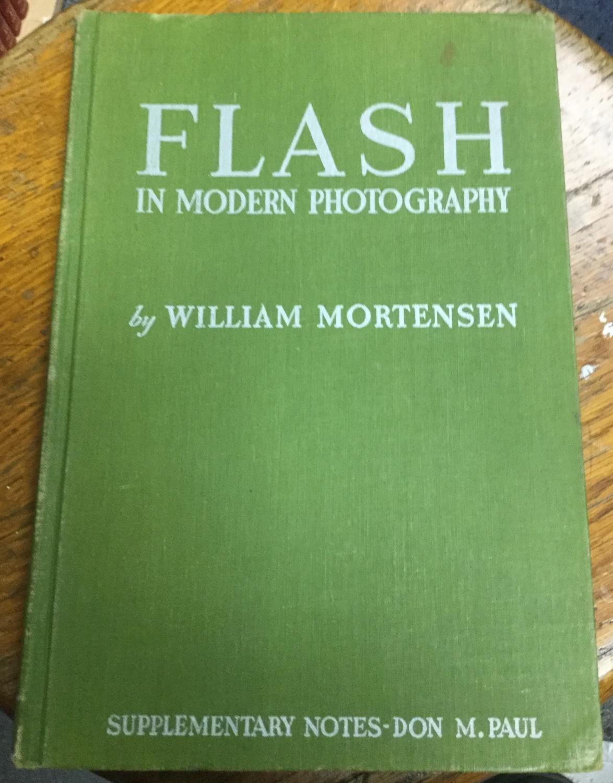 Flash_in_Modern_Photography_Mortensen_William_Very_Good_Hardcover