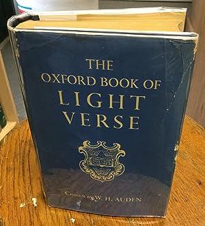 The Oxford Book of Light Verse: Auden, W.H., Chosen