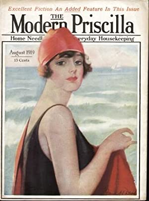 MODERN PRISCILLA ( AUGUST 1919) ) Home Needlework Magazine and Everyday Housekeeping: Multiple ...