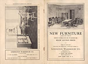 LEXINGTON WAREHOUSE CO. NEW FURNITURE: Lexington Warehouse Co. H. Chessler & Sons
