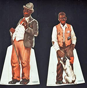 AMOS AND ANDY STAND-UP FIGURES IN COLOR: Pepsodent Co.